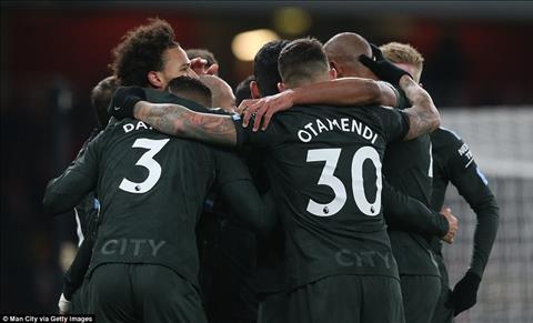 Du am Arsenal 0-3 Man City Ngay tien ve Sane huy diet Phao thu hinh anh