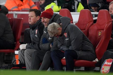 Wenger thua nhan su xuong cap cua Arsenal hinh anh