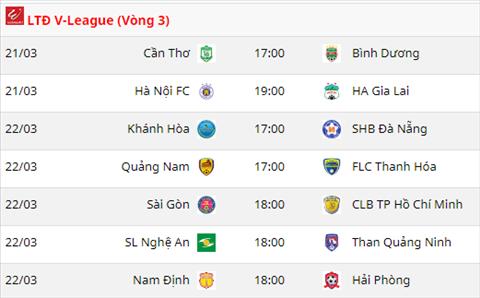 vong 3 V-League 2018