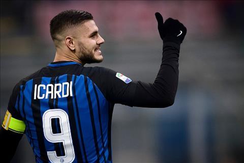mauro icardi cua Inter