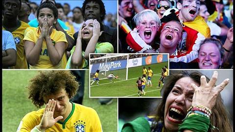 Brazil World Cup 2014 noi dau cua cac CDV