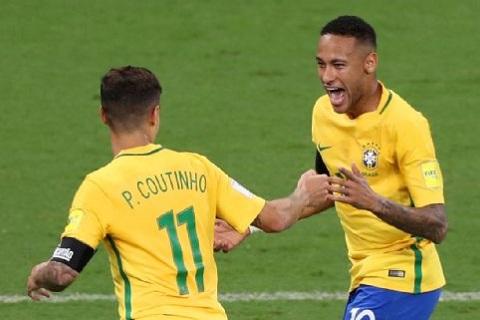 Neymar chấn thương là bài toán mà Brazil cần phải vượt qua