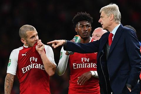 Wenger thuyết phục Wilshere ở lại Arsenal