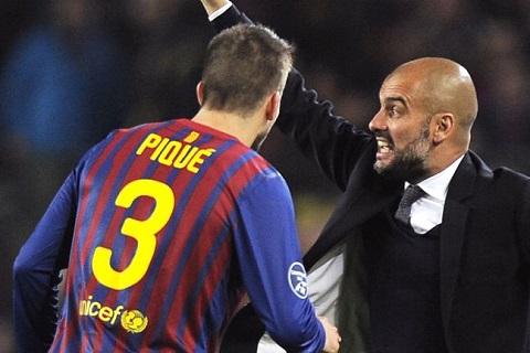 Pique phat bieu ve Pep Guardiola trong su cay dang hinh anh