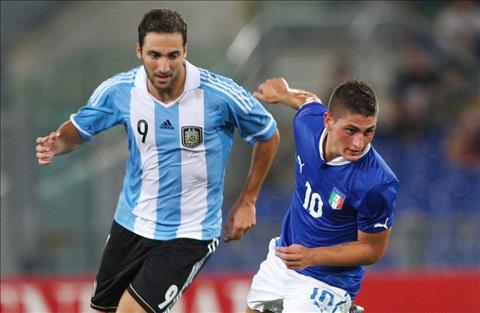 Argentina vs Italia Higuain vs Verratti