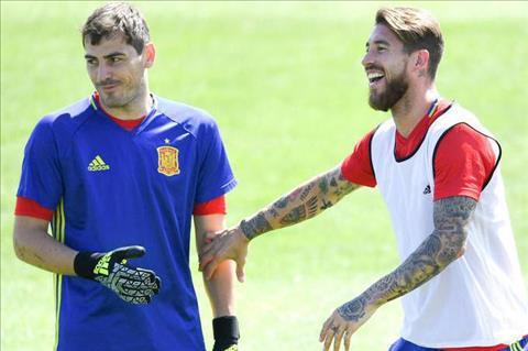 Ramos phat bieu ve Casillas va DT Tay Ban Nha hinh anh