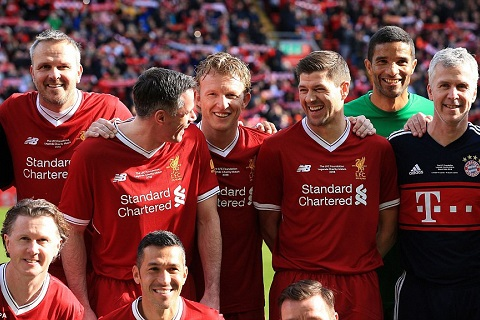 Kuyt hy vong Salah co the giup Liverpool vo dich hinh anh