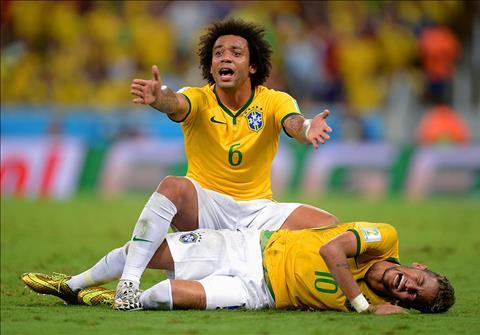 Neymar chan thuong khien suc manh cua DT Brazil suy giam.