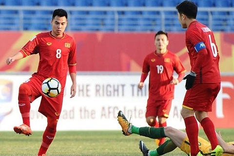 Duc Huy va Xuan Truong da cap tai U23 Viet Nam