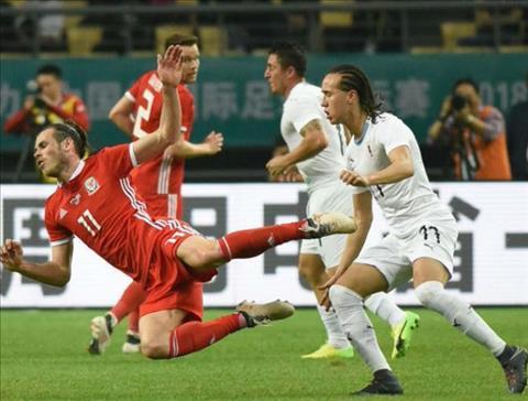 Clip ban thang Wales vs Uruguay 0-1 Giao huu quoc te hom qua hinh anh