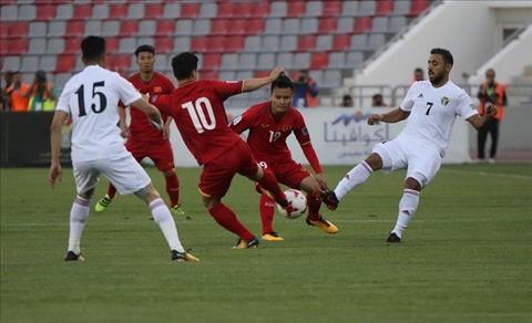 Lượt cuối bảng C khép lại với kết quả Việt Nam 1-1 Jordan