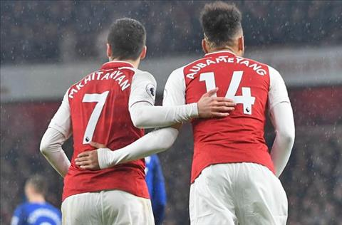 Mkhitaryan va Aubameyang tai Arsenal