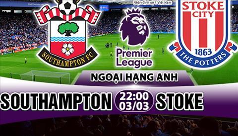 Nhan dinh Southampton vs Stoke 22h00 ngay 33 (Premier League 201718) hinh anh