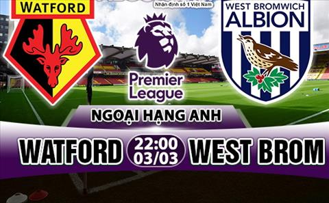 Nhan dinh Watford vs West Brom 22h00 ngay 33 (Premier League 201718) hinh anh