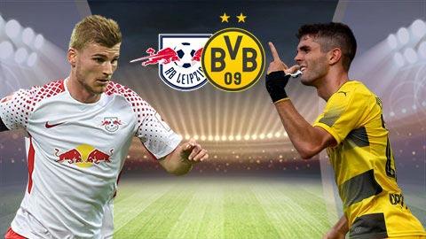 Nhan dinh Leipzig vs Dortmund 0h30 ngay 43 (Bundesliga 201718) hinh anh