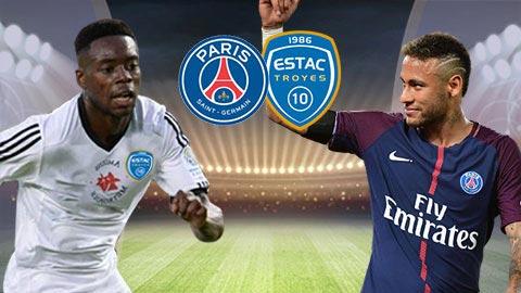 Nhan dinh Troyes vs PSG 23h00 ngay 33 (Ligue 1 201718) hinh anh