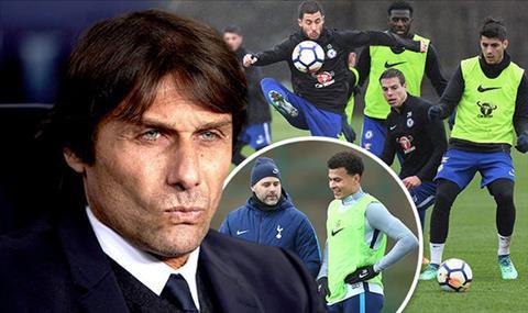 HLV Conte danh gia cao tran dau Chelsea vs Tottenham