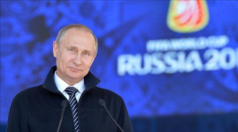 World Cup 2018 tai Nga duoc danh gia nham muc dich chinh tri cua TT Vladimir Putin.