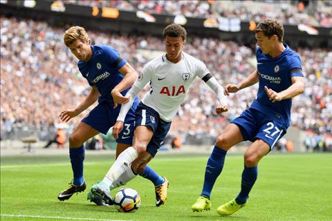 Lap cu dup, Dele Alli phat bieu ve tran Chelsea vs Tottenham hinh anh