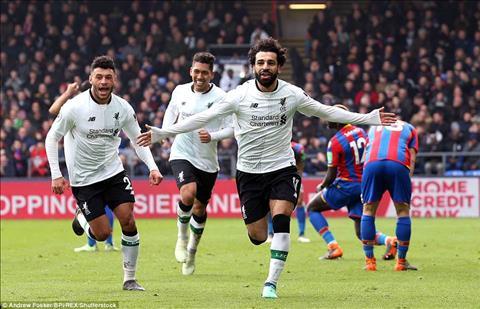 Mohamed Salah lap ky luc nho ban thang vao luoi Crystal Palace.
