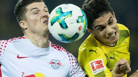 Tong hop Leipzig 1-1 Dortmund (Vong 25 Bundesliga 201718) hinh anh