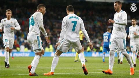 Tong hop Real Madrid 3-1 Getafe (Vong 27 La Liga 201718) hinh anh