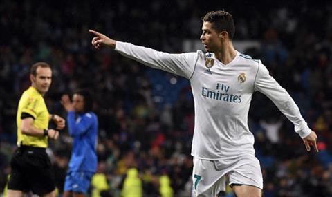 Cristiano Ronaldo lap ky luc sau tran thang cua Real Madrid truoc Getafe hinh anh