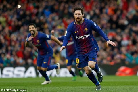 Lionel Messi ghi ban duy nhat giup Barca danh bai Atletico.