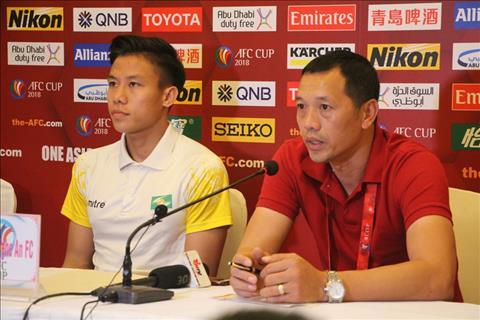 SLNA lac quan truoc tran gap ong lon Indonesia tai AFC Cup hinh anh
