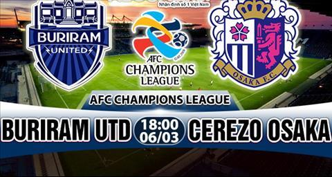 Nhan dinh Buriram vs Cerezo Osaka 18h00 ngay 63 (AFC Champions League 2018) hinh anh
