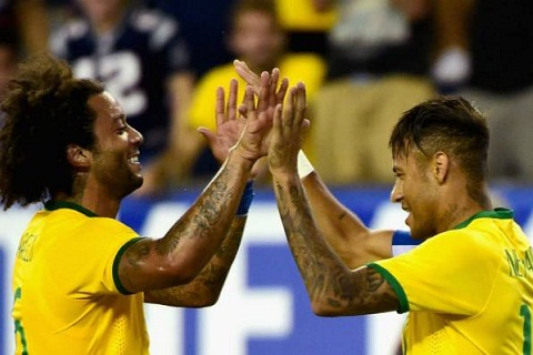 Truoc dai chien, Neymar duoc dong doi tai Real ung ho hinh anh