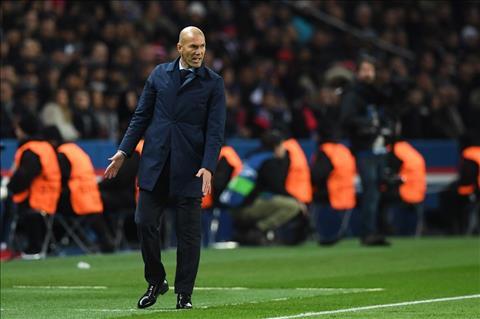 HLV Zidane cua Real