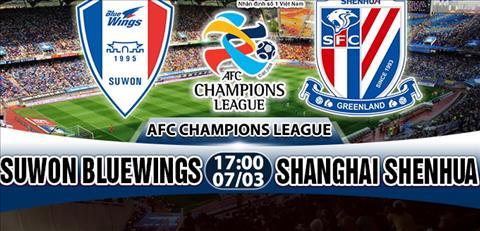 Nhan dinh Suwon Bluewings vs Shanghai Shenhua 17h00 ngay 73 (AFC Champions League 2018) hinh anh