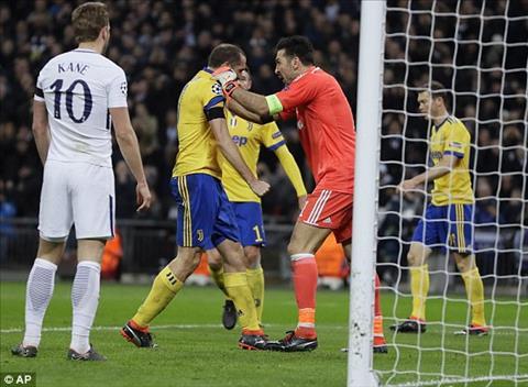 Ket qua C1 - Thong ke tran dau Tottenham 1-2 Juventus hinh anh 2