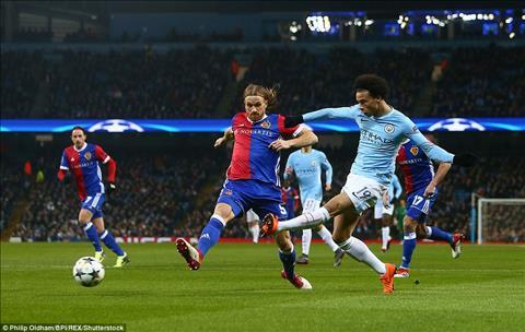 Su xuat sac cua Leroy Sane la khong du co diem tran Man City vs Basel