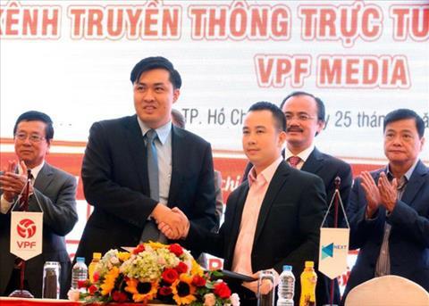 VPF giai quyet cang thang ban quyen truyen hinh V-League 2018 hinh anh