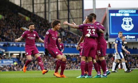 Thang Everton 3-1, HLV Pep Guardiola phat bieu ve Man City hinh anh