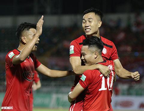 TP.HCM thang tran thu 2 lien tiep - Anh: Ho Chi Minh Football Club