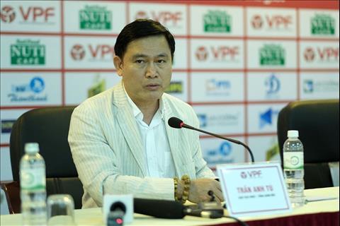 cuu chu tich CLB Hai Phong, ong Tran Manh Hung