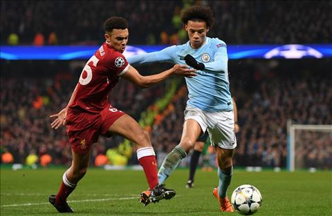 Man City vs Liverpool Arnold can Sane