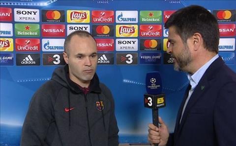 Iniesta Barca 3-0 Roma