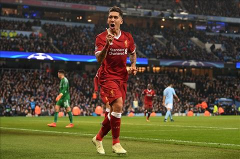 Firmino ghi ban cho Liverpool