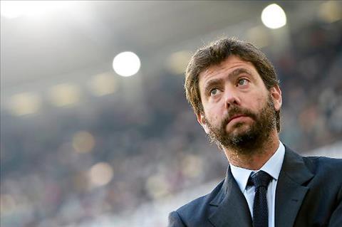 Chu tich Juventus Andrea Agnelli