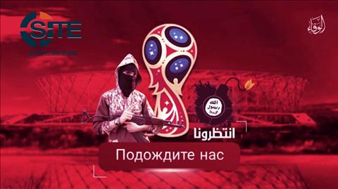 IS dọa tấn công World Cup 2018: Đe dọa cả Tổng thống Nga