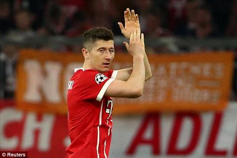 Lewandowski co mot tran dau that vong