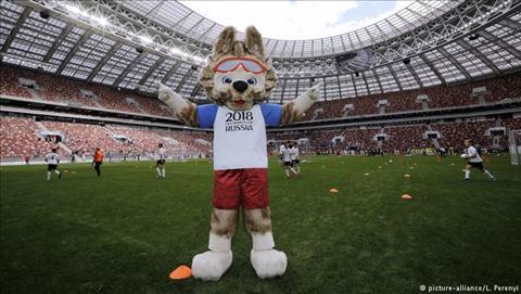 Cac SVD phuc vu World Cup 2018 du kien se tieu ton cua Nga hang trieu rup moi nam.