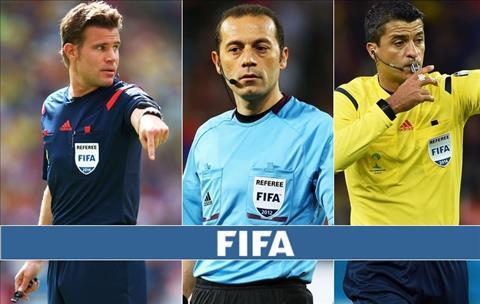 Tiết lộ bất ngờ về số tiền trọng tài World Cup 2018 được nhận