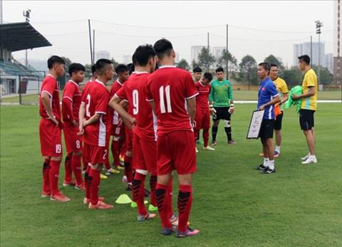 HLV Hoang Anh Tuan siet chat ky luat o giai U19 Suwon JS Cup 2018 hinh anh