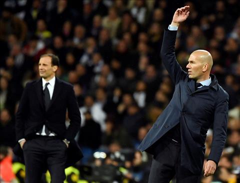 Zidane phat bieu ve tran Real Madrid vs Juventus