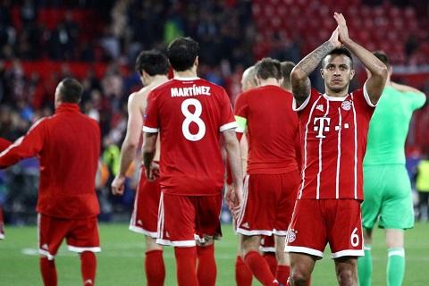 Bayern Munich là CLB khó lường tại bán kết Champions League 2017/18